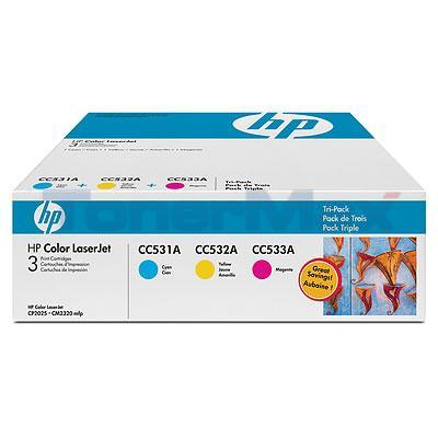 HP LASERJET 304A TONER CARTRIDGES TRI-PACK